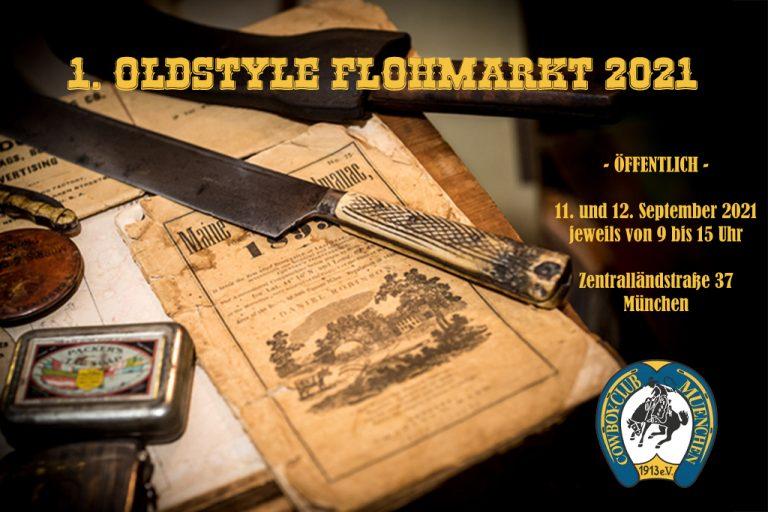 1. Öffentlicher Oldstyle-Flohmarkt 2021
