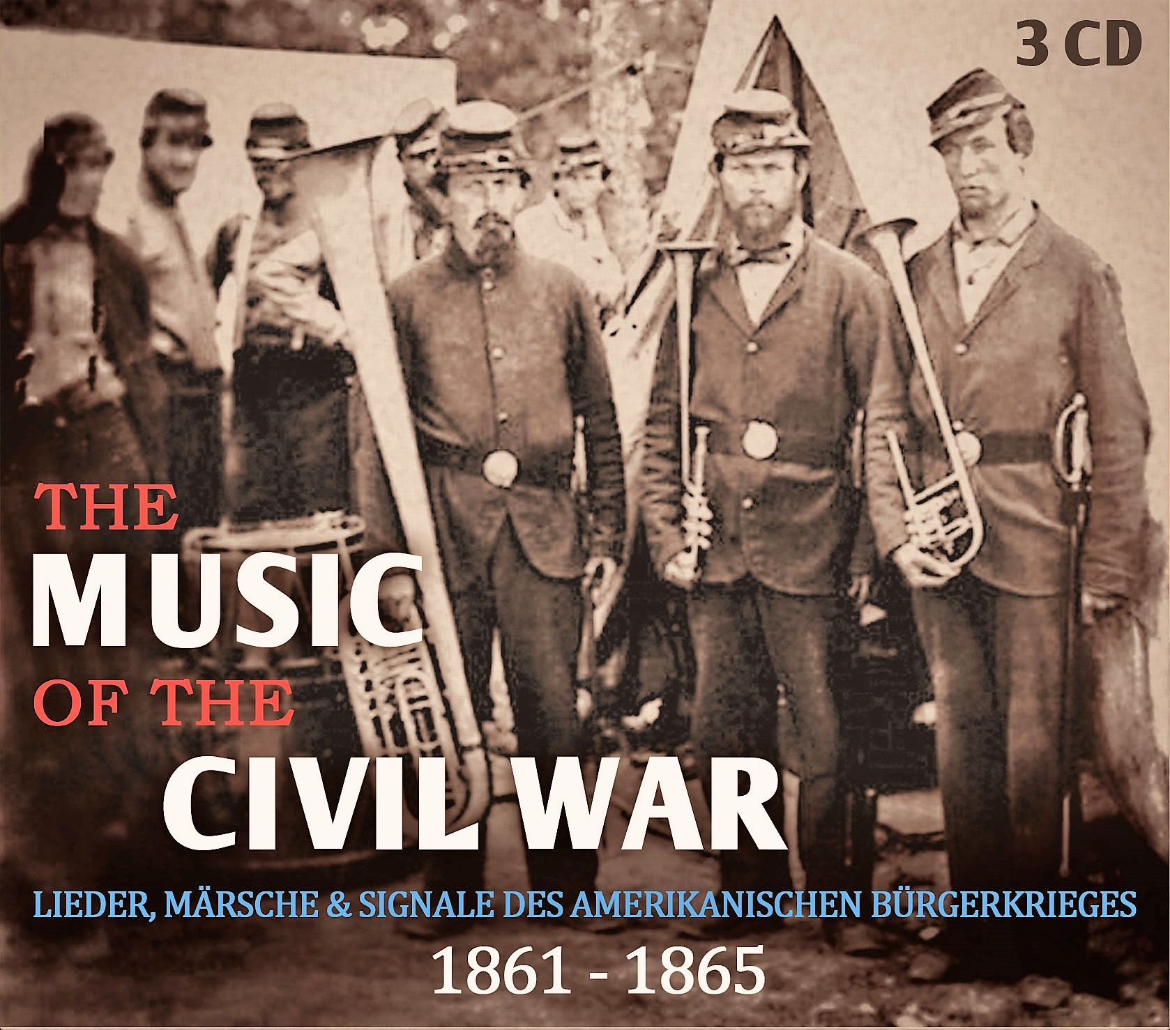 You are currently viewing The Music of the Civil War – Neue Triple-CD