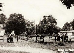 Das erste eigenständige Vereinsheim, am Nockherberg 1954