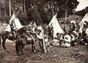 Mitglieder 1931 im Harlachinger Forst